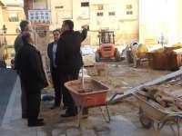 Suárez se muestra satisfecho con las actuaciones del programa de mejora del urbanismo de Teruel dotado con 300.000 euros