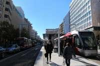 El tranvía traslada a más de 75 millones de viajeros