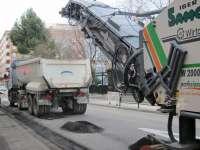 La Operación Asfalto avanzará la próxima semana por los barrios de Delicias, Actur y Rabal