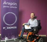 Podemos recauda más de 35.000 euros para su campaña electoral en Aragón