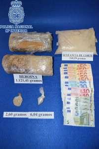 Localizado más de un kilo de heroína en un coche, durante un control en Canfranc (Huesca)