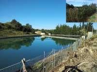 La CHE finaliza el acondicionamiento del depósito de aguas de La Almunia de San Juan