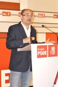 Lambán (PSOE) propone dotar con 100 millones anuales la renta básica