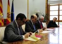 El Gobierno de Aragón y la Federación de Empresas de Transporte potencian la logística y la generación de empleo