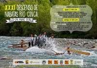 Las nabatas del Sobrarbe volverán a surcar el río Cinca el próximo 24 de mayo