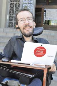 Pablo Echenique (Podemos) dice que el trasvase
