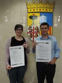 Palacín (CHA) propone en Huesca un plan urgente contra los desahucios y la pobreza energética
