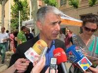 Martín (CHA) dice que aumentará a 1,5 millones de euros la partida para becas de comedor