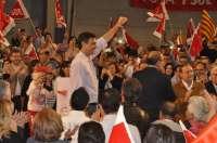 Sánchez (PSOE) dice que votar al PSOE es decir
