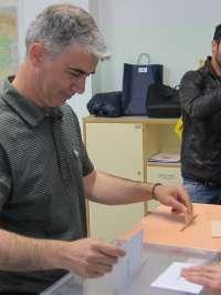 Juan Martín (CHA) anima a participar porque estas elecciones