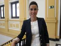 La alcaldesa de Ejea,