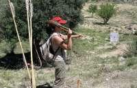 El Parque Cultural del Río Martín acoge el Campeonato europeo de tiro con arco y propulsor prehistóricos