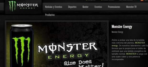 La bebida energética Monster