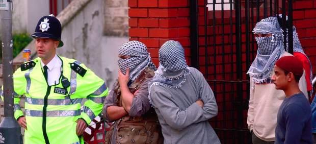 Islamistas en Londres
