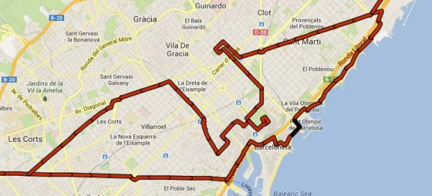 Vía Catalana Barcelona
