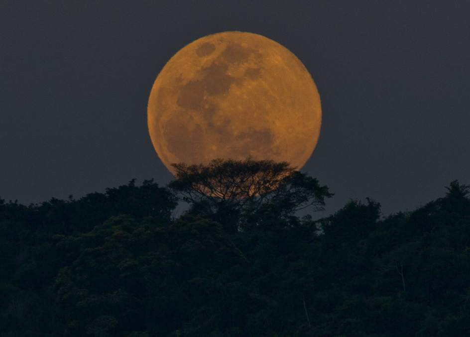 Superluna sobre Río