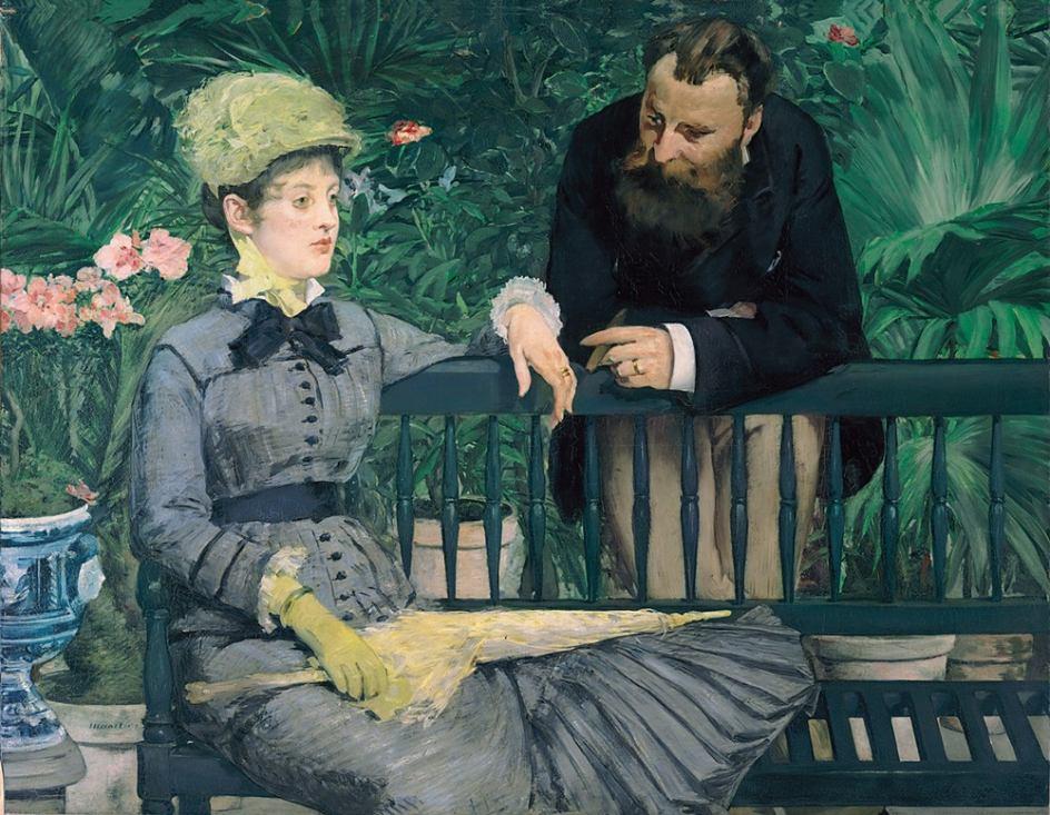 Óleo de Edouard Manet