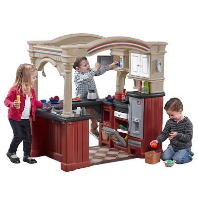 kidkraft toy kitchen modern designs 过家家 美国打折网