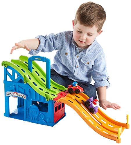 史低價!Fisher-Price 費雪二合一手提式賽車跑道玩具組,現僅售$13.20 - 玩具/游戲 美國打折網