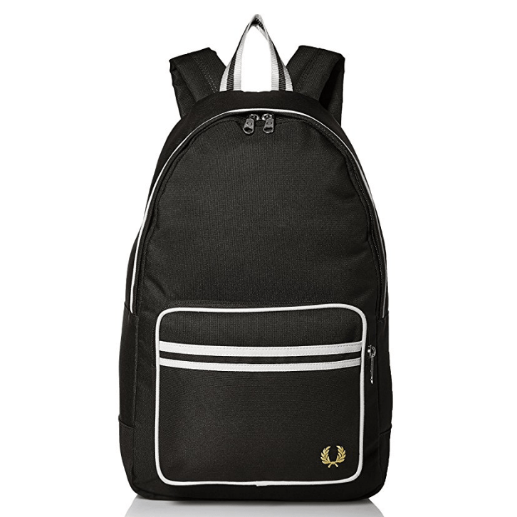 Fred Perry Men's Twin Tipped Back Pack $45。free shipping - Handbags/Purses 21usDeal.com