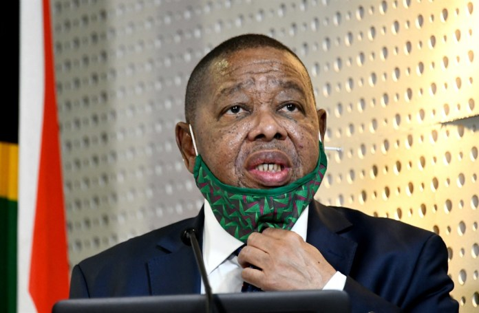 Higher Education, Science and Innovation Minister Blade Nzimande.