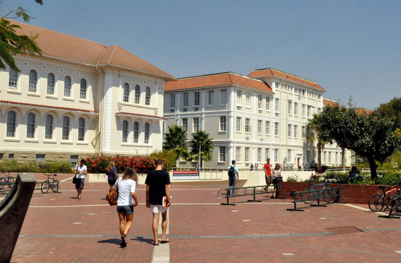 A Stellenbosch University campus.