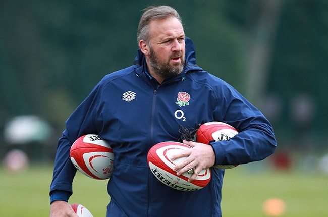 England forwards coach Matt Proudfoot.
