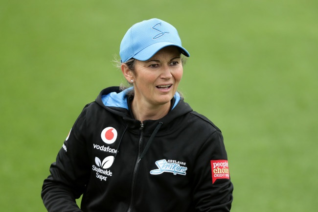 Charlotte Edwards  (Photo by Mark Metcalfe/Getty Images)