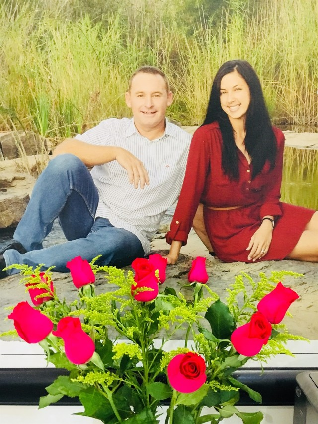 The Brits couple (Suretha Brits/Facebook)