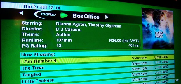 Review  DStv BoxOffice  Channel24