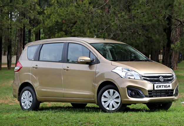 new ertiga vs grand veloz yaris 2018 trd cvt suzuki receives mid life facelift wheels24 s people mover has spruced its seven seater mpv the midway through cycle