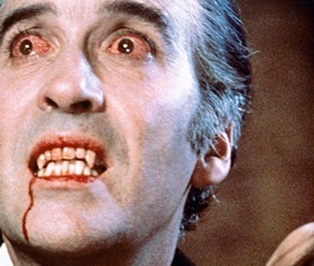 Christopher Lee In The 1958 Film Dracula Getty Images