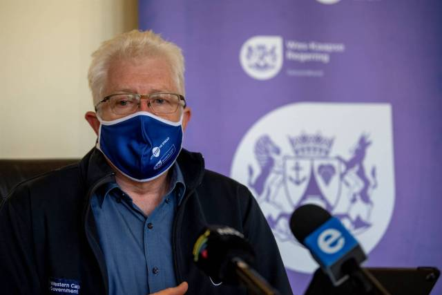 Western Cape Premier Alan Winde warns that the week-on-week growth of Covid-19 is too high.