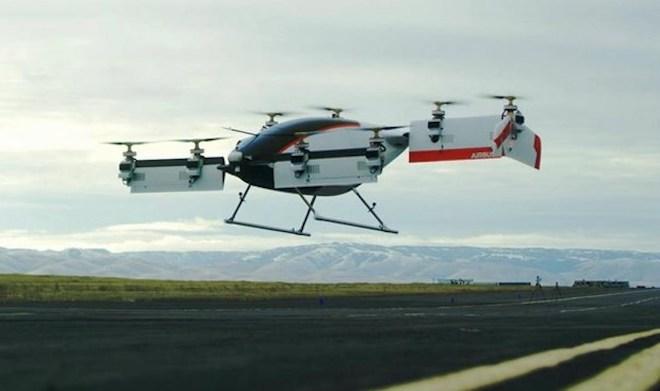 Taxi bay sẽ hiện hữu trong tương lai gần nhằm giảm ùn tắc giao thông - 1