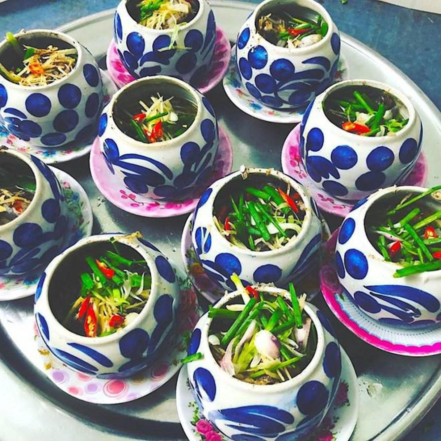 Than không khói - Giới thiệu 10 món hải sản đặc biệt Việt Nam