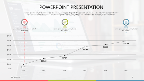 Free Data Powerpoint Templates by 24Slides