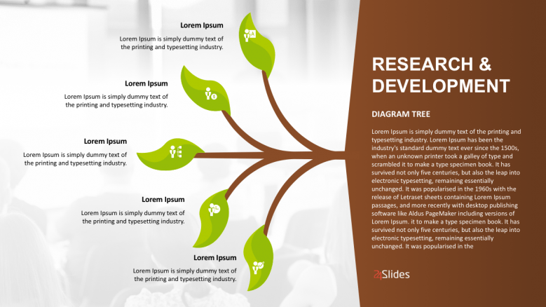 hight resolution of tree diagram powerpoint template