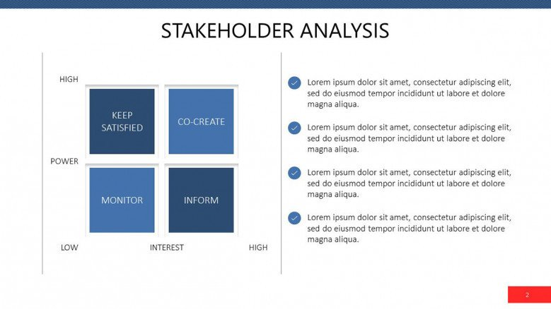 hight resolution of stakeholder analysis powerpoint template