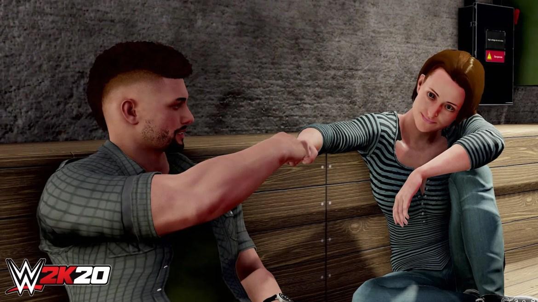5d9bdcc934a3bmycareerfist1920 - Recensione WWE 2K20
