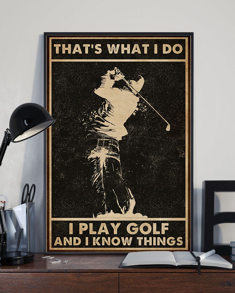 that s what i do golf