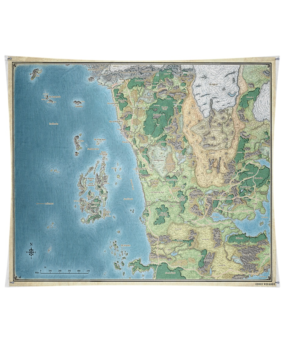 Faerun Hex Map | RPGnet Forums