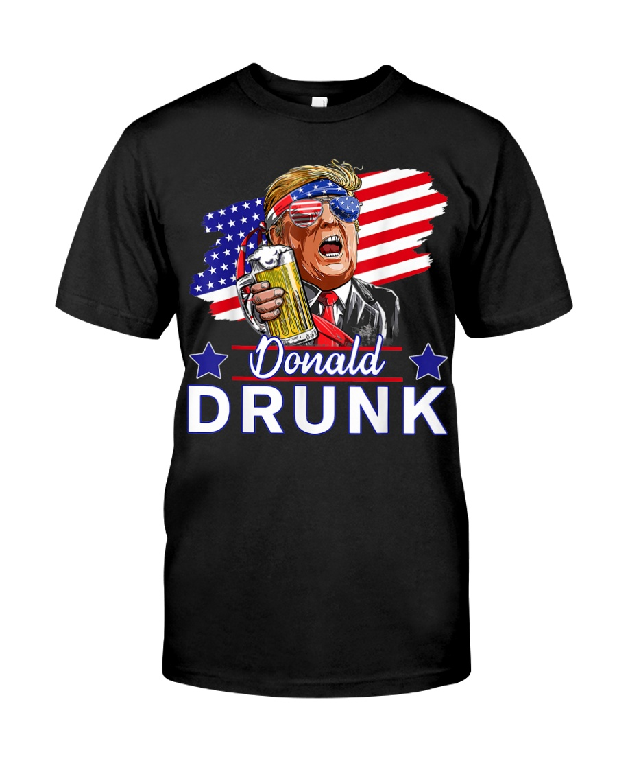President 4th Of July Shirts : president, shirts, Trump, Funny, Drinking, Presidents, Donald