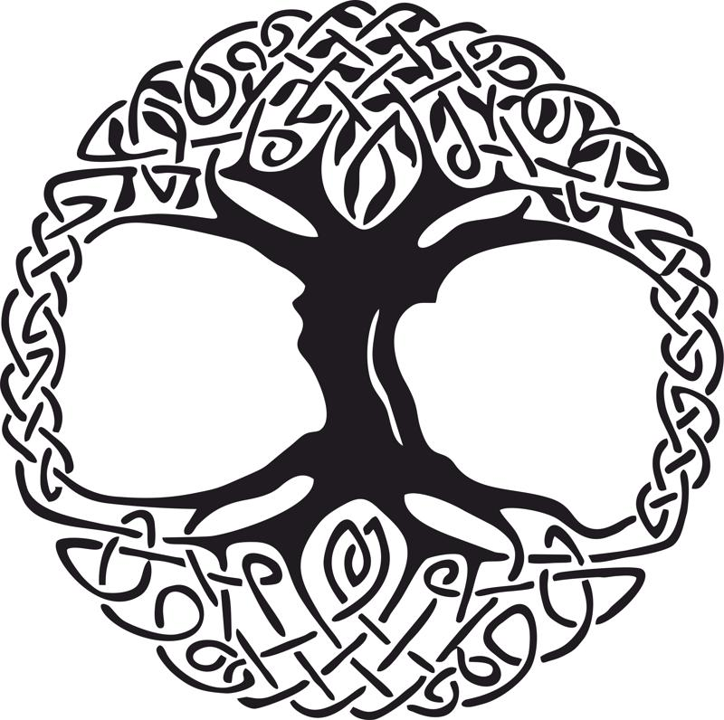 Celtic Tree Of Life Clipart