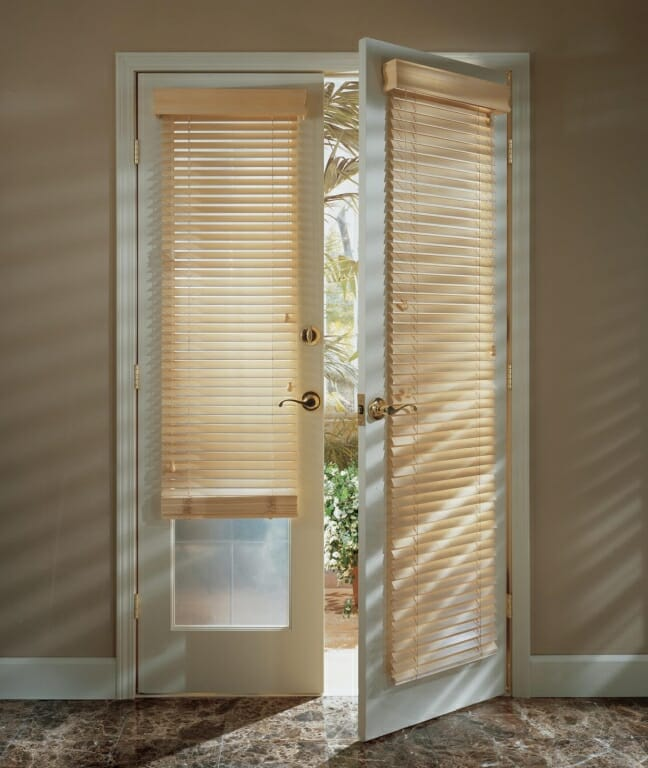 products window treatment ideas for doors