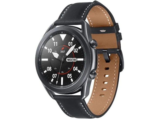 Samsung Galaxy Watch3 em preto