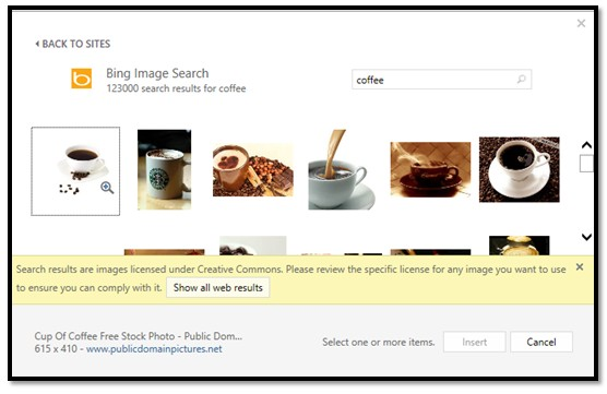 How To Insert Images Into Publications In Microsoft