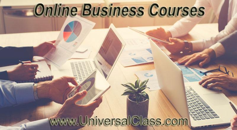 Online Business Training Courses UniversalClass