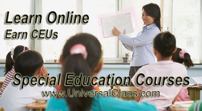 Online Special Education Courses  Universalclass