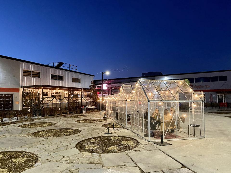 best outdoor dining setups in denver