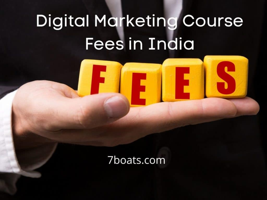Of degree students, and more. Digital Marketing Course Fees In India - 7boats